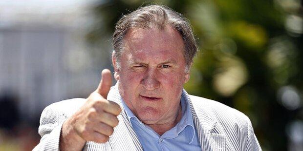 Depardieu steht wieder in Paris auf der Bühne