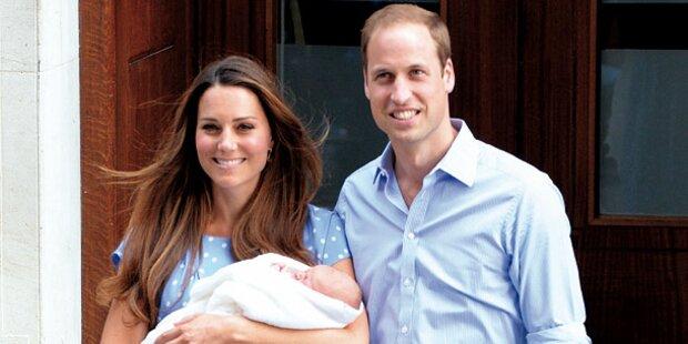 Jetzt bekommt Prinz George eine Nanny