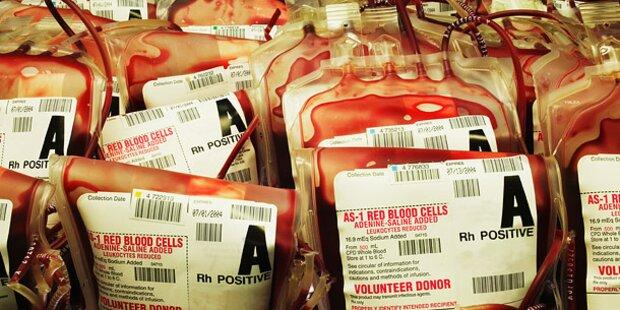Zu wenig Blut für dringende Operationen