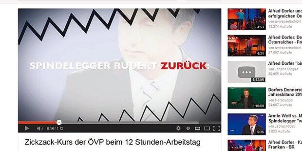 SPÖ dreht YouTube-Videos gegen Spindi