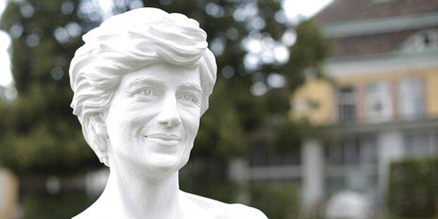 Lady Di-Denkmal in Wien enthüllt