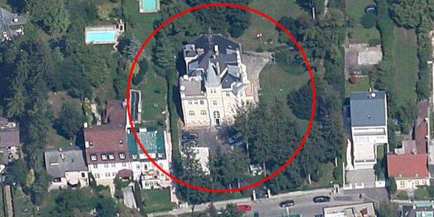 In dieser Wiener Villa spionierte die NSA