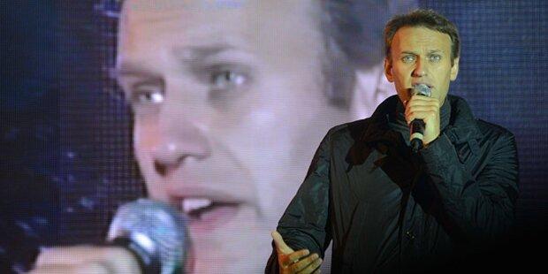 Wahl stärkt Putin-Gegner Nawalny