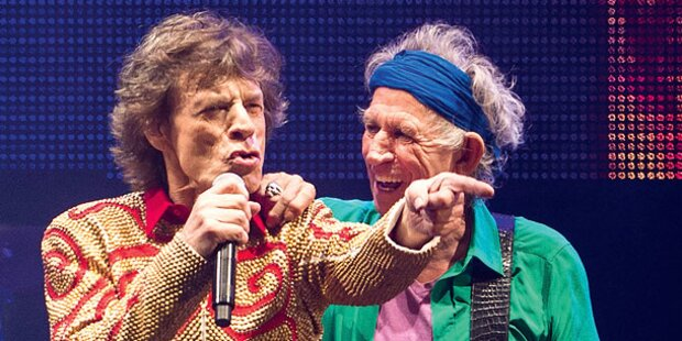 Rolling Stones rocken wieder die Stadien