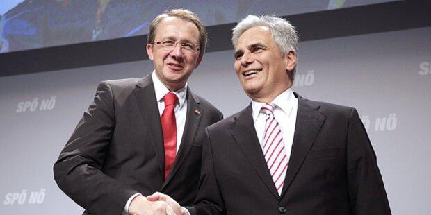 Stadler zum SPÖ-NÖ-Vorsitzenden gewählt