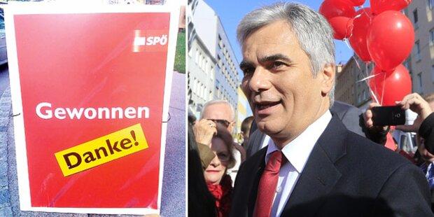 Aufregung um falsche Wahlplakate