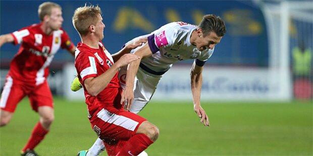 0:1 - Admira stürzt Austria in die Krise