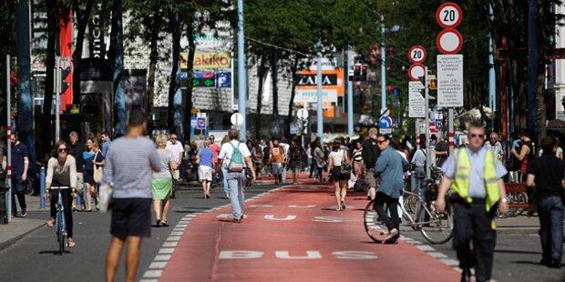Mahü neu: Weniger Autos in den Bezirken