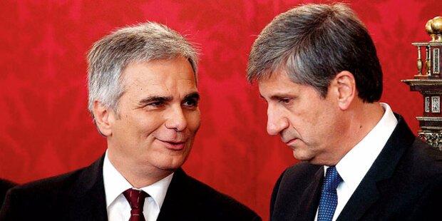 Koalition neu: Erstes Geheim-Treffen