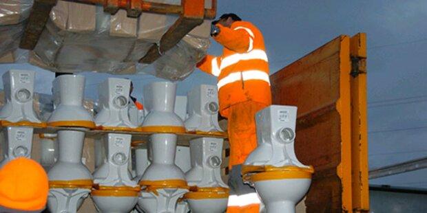 A1: Megastau wegen LKW-Unfall mit WCs