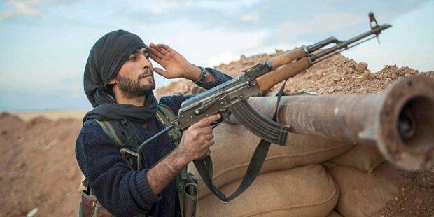 Syrische Armee erorbert Land zurück