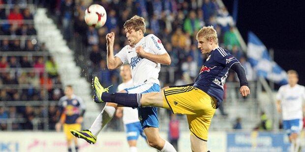 Salzburger Fußballclubs trennen sich mit 2:2