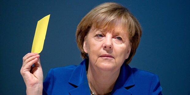 Merkel bei Ski-Unfall verletzt
