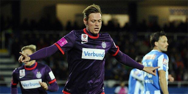 Austria gewinnt in Wr. Neustadt klar 3:0