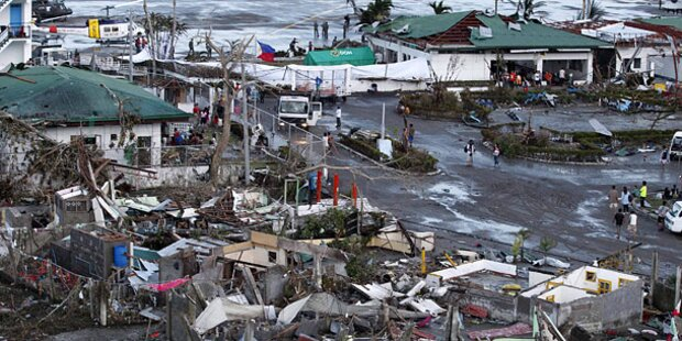 Horror-Taifun: Mindestens 1.200 Tote
