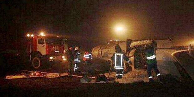 Boeing 737 abgestürzt: Alle Insassen tot