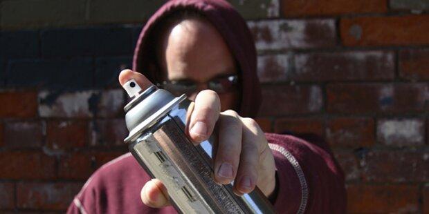 Zwei Graffiti-Sprayer festgenommen