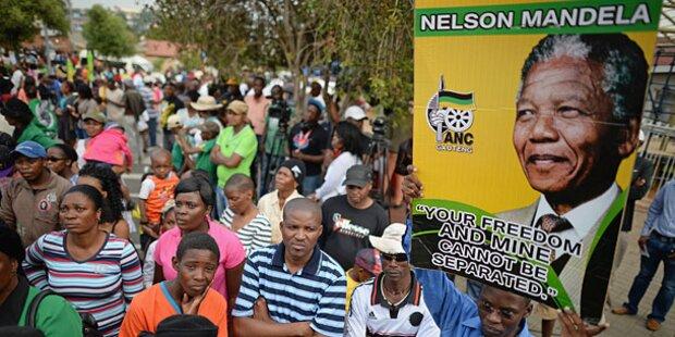 Nelson Mandela: Begräbnis wird zur Weltfeier