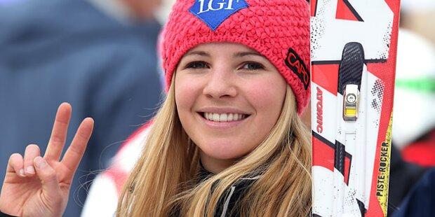 Ski-Queen Tina Weirather frisch verliebt