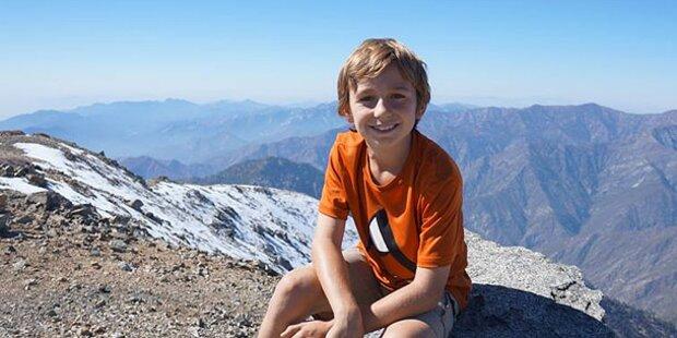 9-jähriger Bub bezwingt 7.000-Meter-Berg