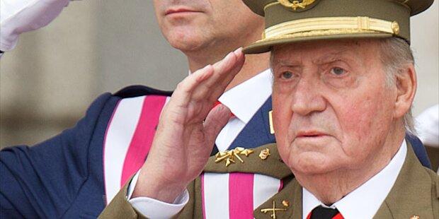 Juan Carlos: Erster Auftritt nach OP