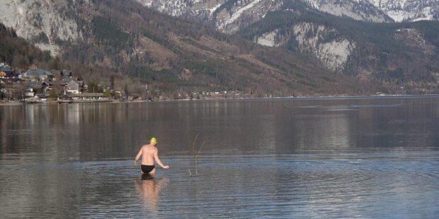 Erster Österreicher schwamm