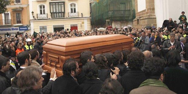 Paco De Lucia in seiner Geburtsstadt beerdigt