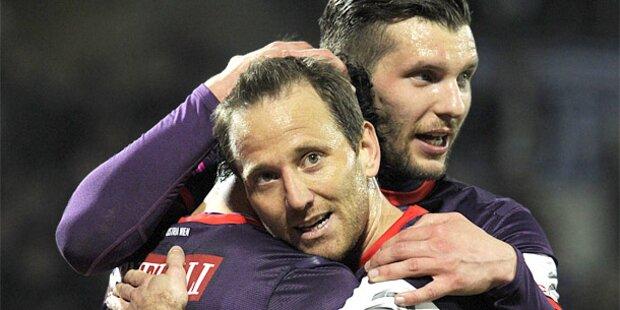2:0 - Austria holt wichtige Punkte gegen Grödig
