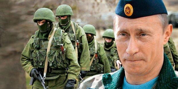 Krim-Krise: Warn-Schüsse auf Austro-Soldaten
