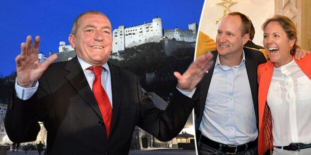 SPÖ siegt in der Stadt, NEOS-Sensation