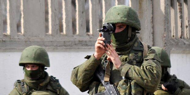 Ukraine wehrt russischen Einmarsch ab
