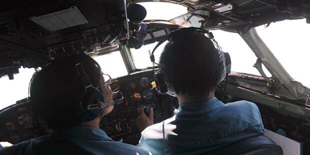Haben Piloten den Flieger entführt?
