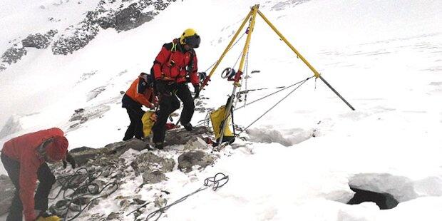 Urlauberin (25) stürzte in Gletscherspalte