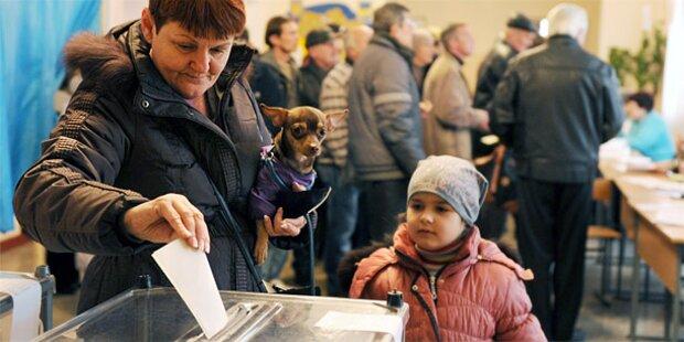 Krim: 95,5 Prozent stimmen für Anschluss