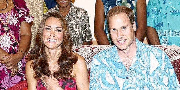 Kate & Will: Empörung über Luxus-Urlaub