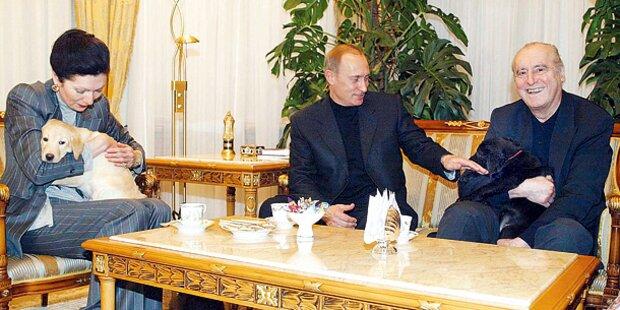 Margot Klestil soll Putin besänftigen