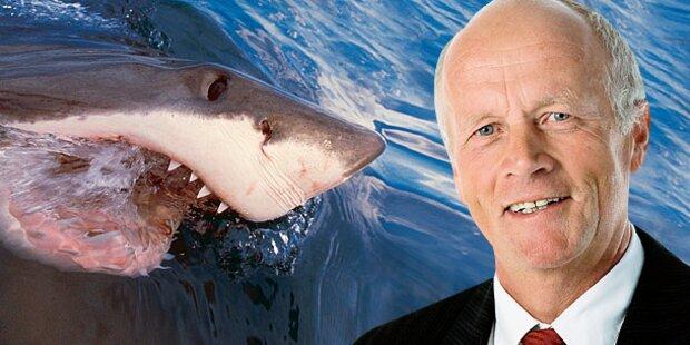 20 Minuten Todes-Kampf mit Hai