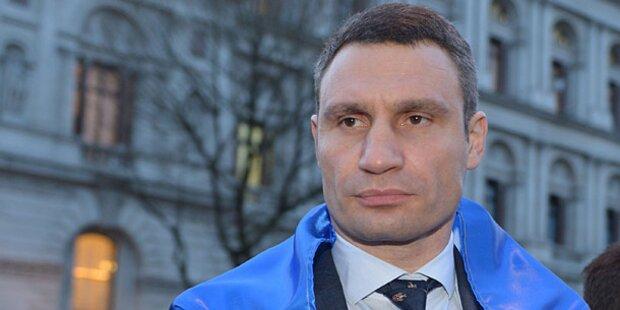 Klitschko verzichtet auf Präsidenten-Amt