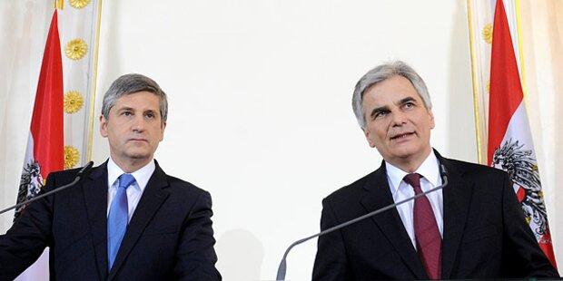 Österreicher kennen ihre Politiker nicht