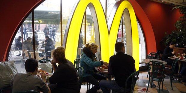 Vierter Überfall auf McDonald's Filiale