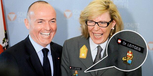 Bundesheer: Aus für Titel auf den Uniformen