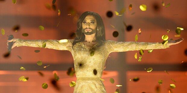 Conchita Wurst gewinnt den Song Contest