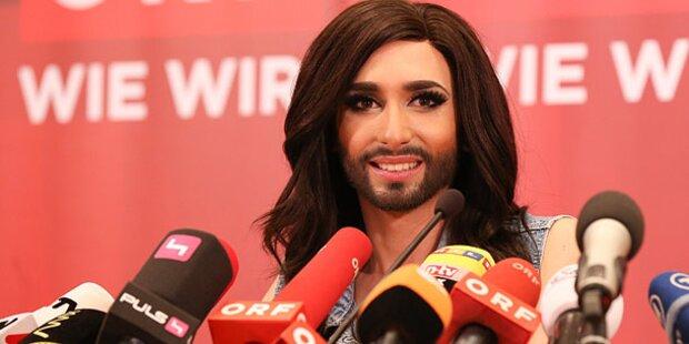 Russen beschimpfen Conchita Wurst