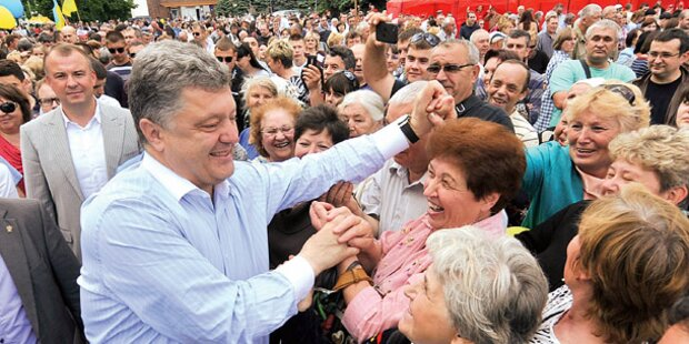 Schoko-König soll Ukraine retten