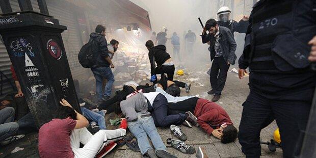 Türkei: Tränengas gegen Erdogan-Kritiker