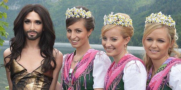 Conchita Wurst krönte Narzissenfest