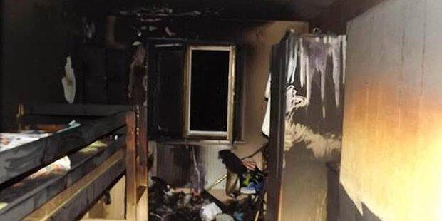 9 Verletzte nach Brand in Wiener Wohnung