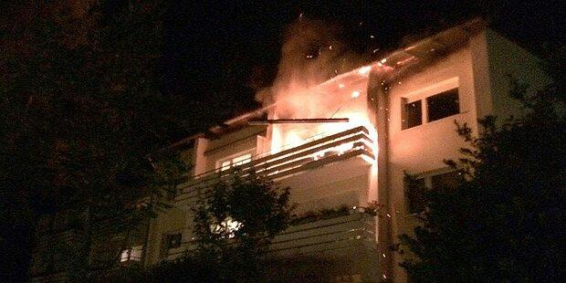 Ethanolofen löste Wohnungsbrand aus