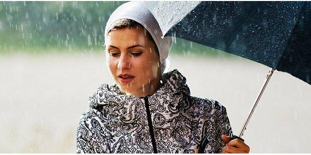 Erste Ferienwoche startet kühl und mit Regen