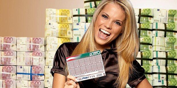 Lotto-Jackpot: 9 Millionen Urlaubs-Geld